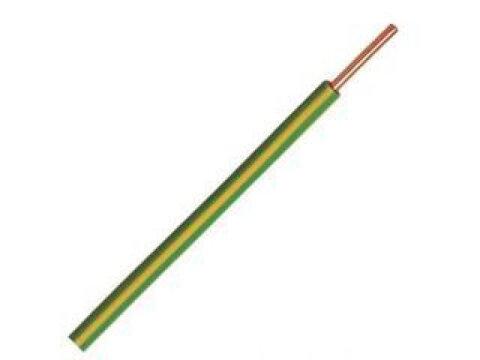 Donné Draad VD draad 2,5 mm geel/groen rol 100 meter