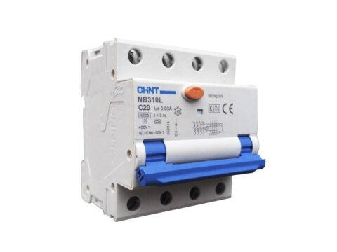 CHINT Aardlekautomaat 3 fase 16A 3P+N B-kar 300mA