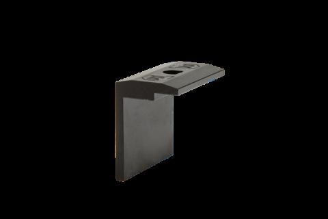FlatFix Fusion Eindklem 40mm ZWART
